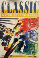 Classic akvarellilehtiö 250 g A4