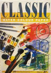 Classic akvarellilehtiö 250 g A3