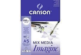 Canson Imagine lehtiö A5