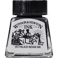 Piirustustussi Winsor & Newton Indian Ink , musta