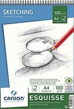 Canson 100 g luonnoslehtiö A4