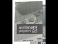 Millimetripaperi A4