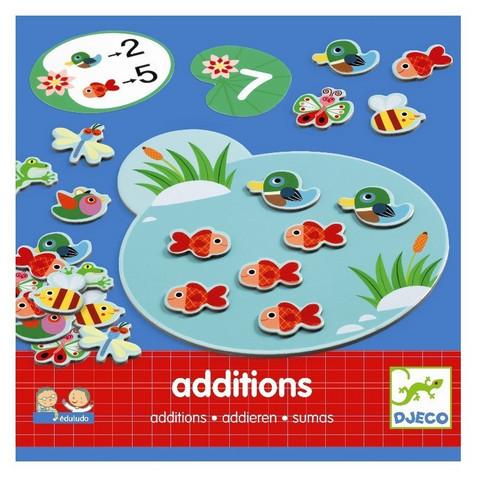 Djeco Additions- laskemispeli