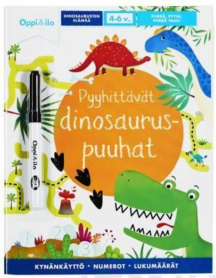 Pyyhittävät dinosauruspuuhat