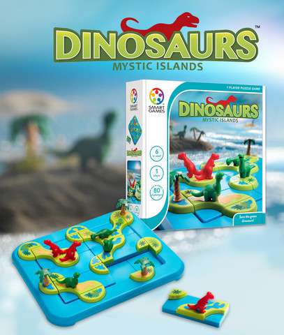 Smartgames-peli, Dinosaurukset