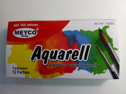 Akvarellivärinapit,Meyco