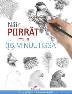 Näin piirrät lintuja 15 minuutissa