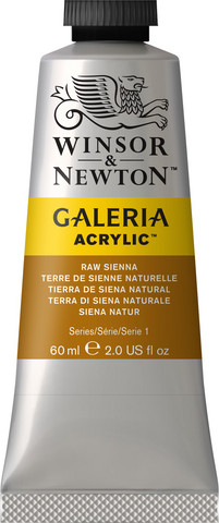 Akryyliväri, Raw Sienna, 60 ml