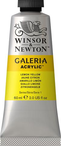 Akryyliväri, Lemon Yellow, 60 ml