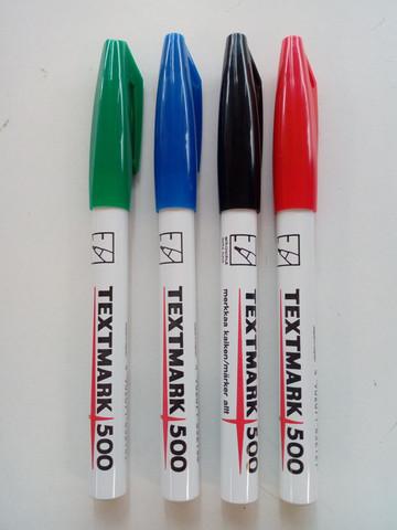 Huopakynä Texmark 500, musta