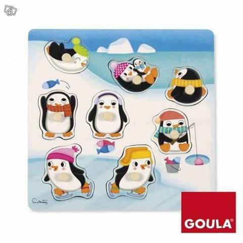 Nuppipalapeli, pingviinit