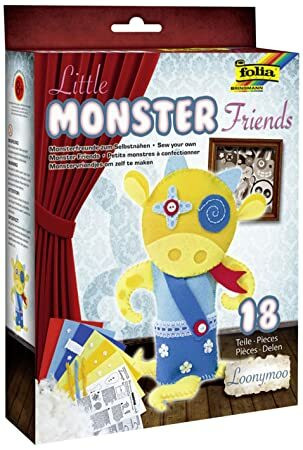 Little monster, ompelutyö