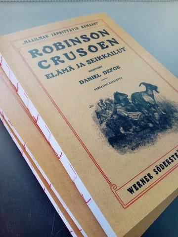 Muistikirja, Robinson Crusoe
