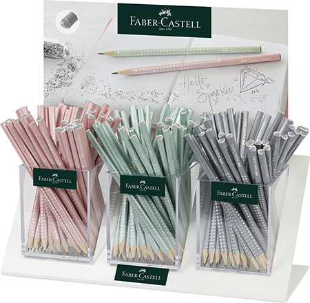 Lyijykynä Faber-Castell, harmaa