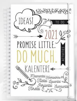 Kalenteri Scribble 2021