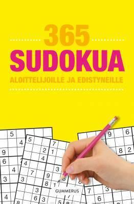 365 sudokua aloittelijoille ja edistyneille