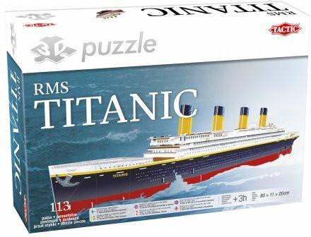 3D-palapeli, Titanic