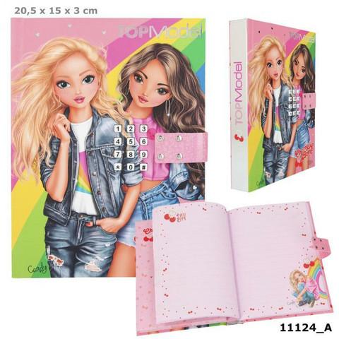 Top Model Koodillinen ja soiva päiväkirja
