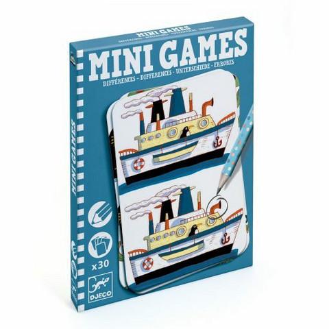 Mini Games, etsi erot