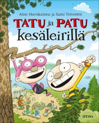 Tatu ja Patu kesäleirillä