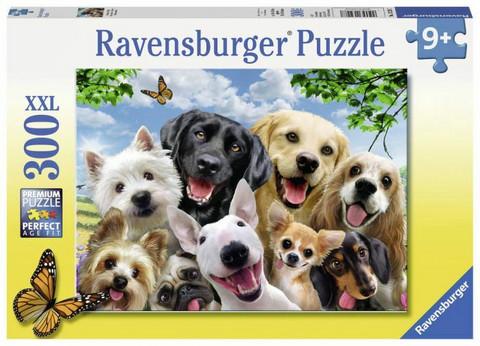 Palapeli, Delighted dogs, 300 palaa