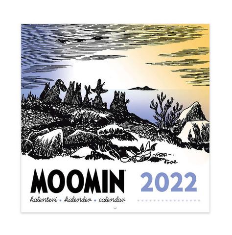 Seinäkalenteri Muumi 2022