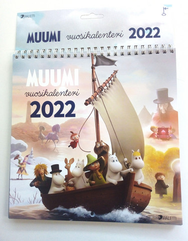 Seinäkalenteri 2022, Muumit