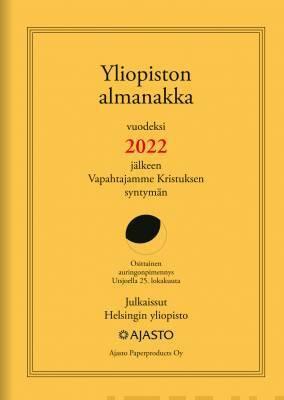 Yliopiston almanakka 2022, A4