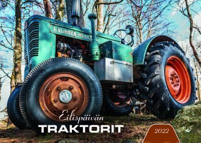 Eilispäivän traktorit. Seinäkalenteri 2022