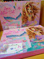 Fantasy luova kirjepaperisetti Mermaid