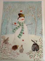 Joulukalenteri Lumiukko
