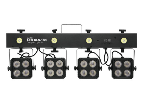 EUROLITE Set LED KLS-180 + QuickDMX Wireless receiver