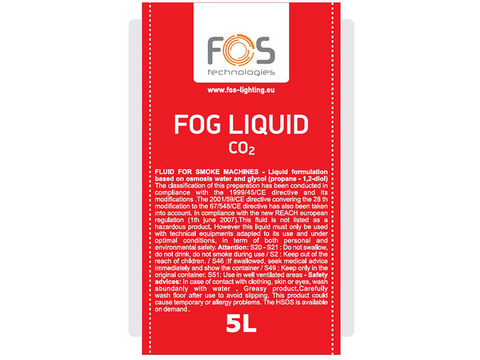 FOS Fog Liquid CO2 5L