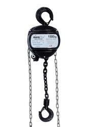 EUROLITE Chain Hoist 6M/1.5T, black