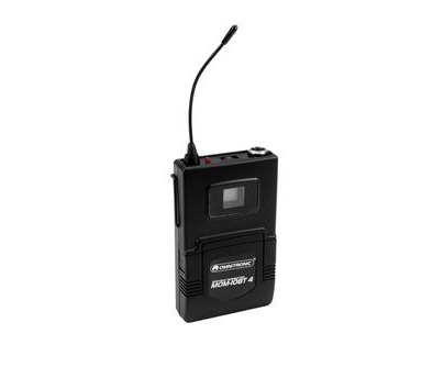 OMNITRONIC Bodypack Transmitter to MOM-10BT4
