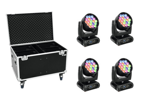 FUTURELIGHT Set 4x EYE-19 + Case
