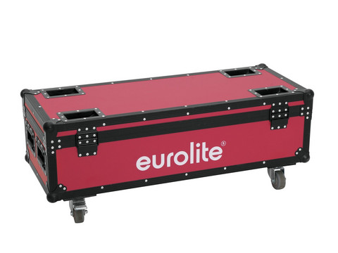 ROADINGER Flightcase 4x LED Umbrella
