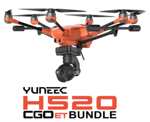 Yuneec H520 RTF with CGOET Thermal Camera