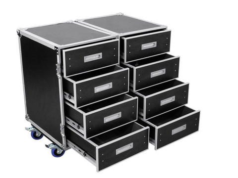 ROADINGER Universal Roadie Case Double Drawer DD-2