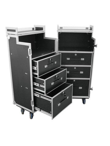 ROADINGER Universal Roadie Case Double Drawer DD-1