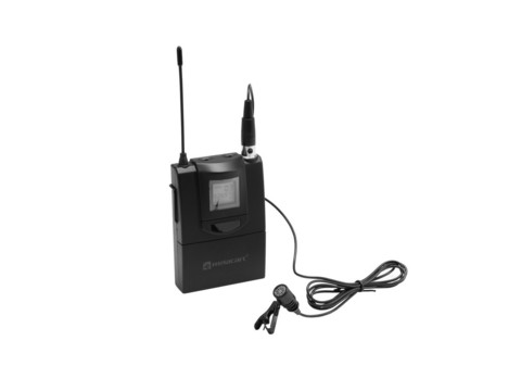RELACART ET-60 Bodypack with Lavalier Microphone for WAM-402