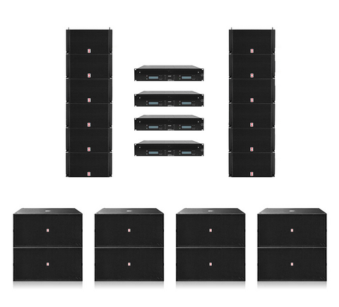 Voice-Acoustic Ikarray-12 Set, Line-Array System