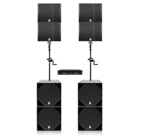 Voice-Acoustic Ikarray-8 Set - Plug & Play Sound System