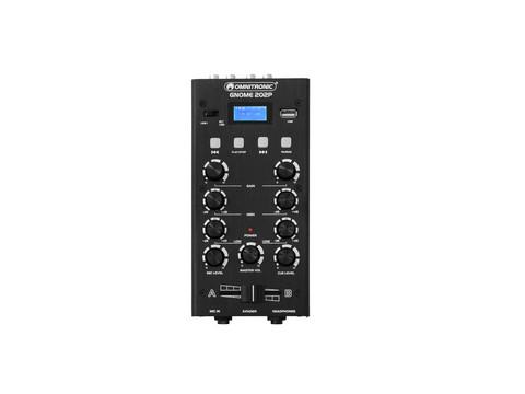OMNITRONIC GNOME-202P Mini Mixer
