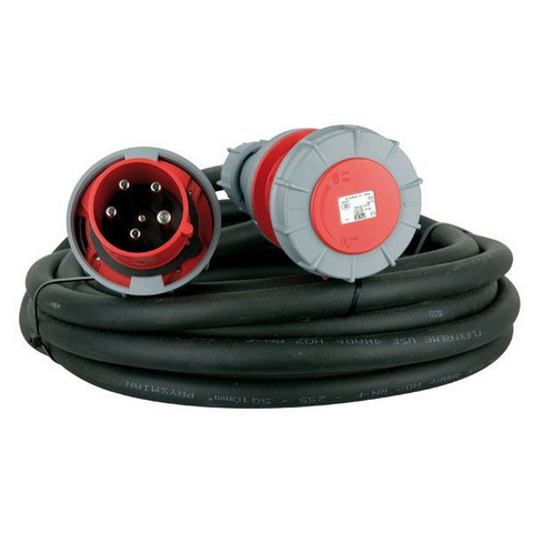 Showtec 3 x 63A 380V Extension Cable
