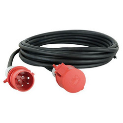 Showtec 3 x 32A 380V Extension Cable