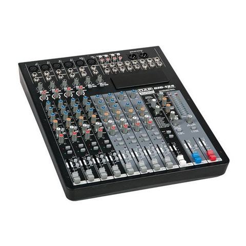 DAP GIG-124CFX, 12 Channel live mixer incl. dynamics & DSP