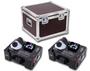 * VUOKRAUS * Savukonesetti: 2x Stairville AF-180 LED Fogger CO2 FX DMX + Case