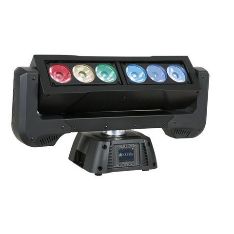 Infinity iFX-615, Continuous Rotating RGBW Bar