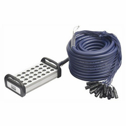 DAP Audio 30m XLR Multisnake 24 in, 4 out,